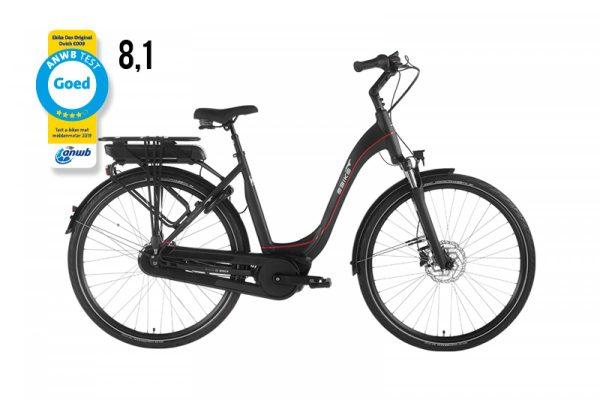 zwarte e-bike